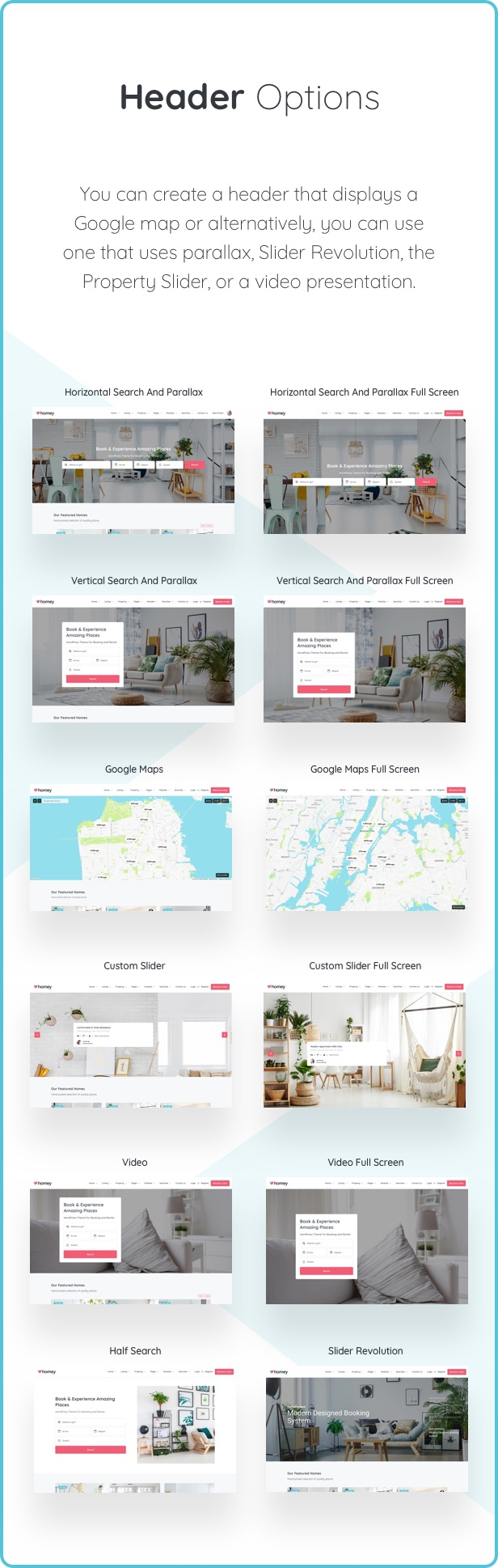 Homey - Booking and Rentals WordPress Theme - 15  Download Homey – Booking and Rentals WordPress Theme nulled header
