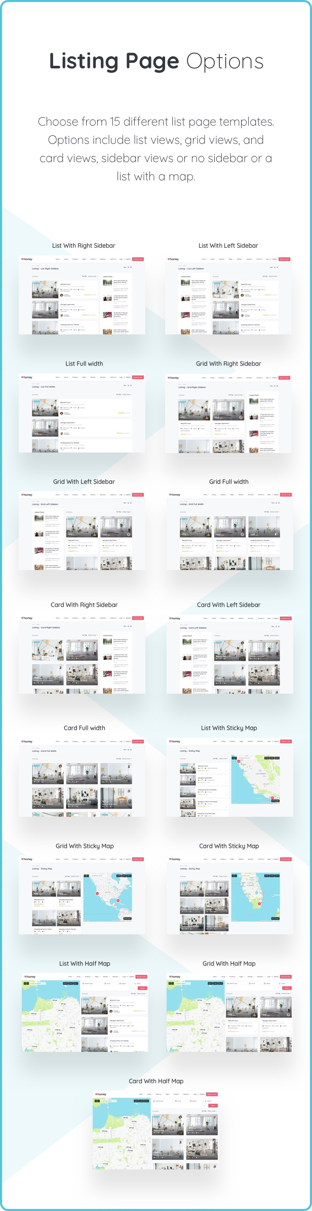 Homey - Booking and Rentals WordPress Theme - 16  Download Homey – Booking and Rentals WordPress Theme nulled listing options