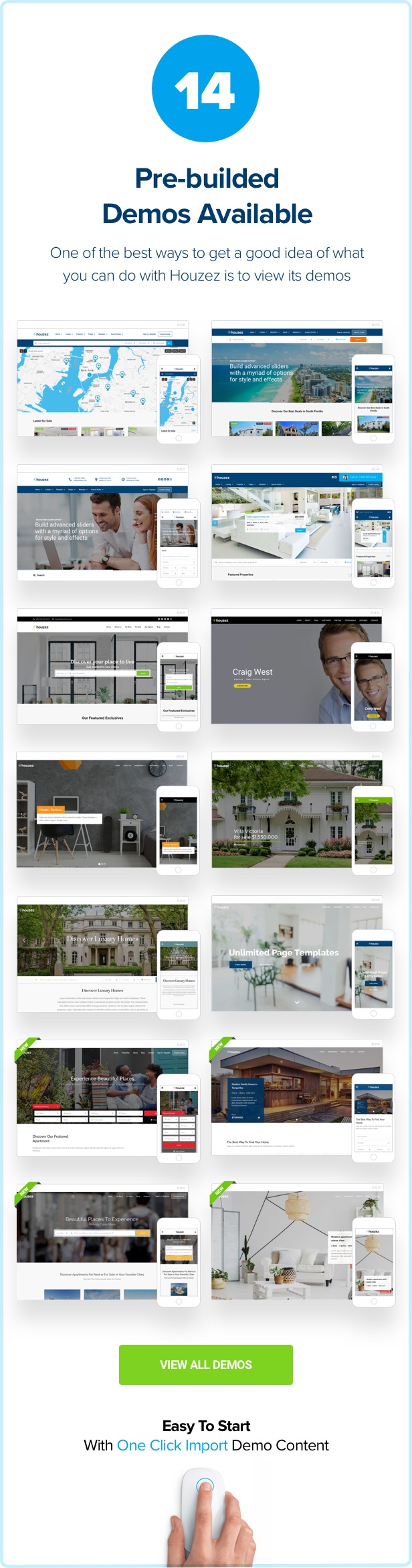 houzez demo 1 6 3 - Houzez – Real Estate WordPress Theme