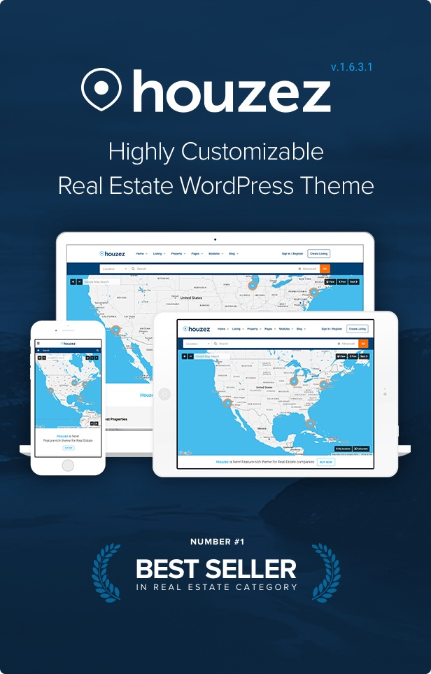 houzez intro 1 6 3 - Houzez – Real Estate WordPress Theme